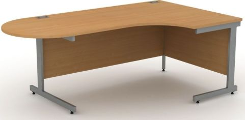 AVALON9A Right Hand Interactive Beech Corner Desk, 17 Finishes, Free Delivery, 5 Year Warranty
