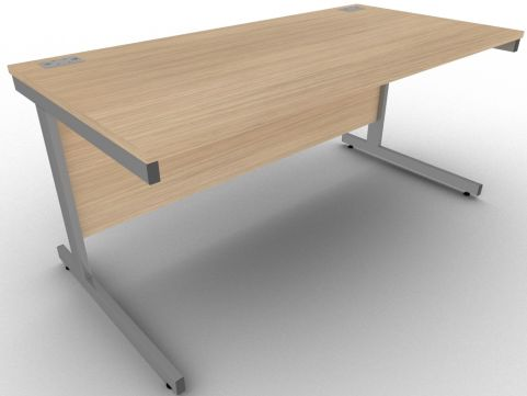 AVALON1 Avalon Verade Oak Rectangular Executive Office Desk, Free Delivery, 5 Year Warranty