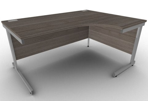 Avalon Anthracite Right Hand Corner Office Desk, Free Delivery, Stylish Office Workstation
