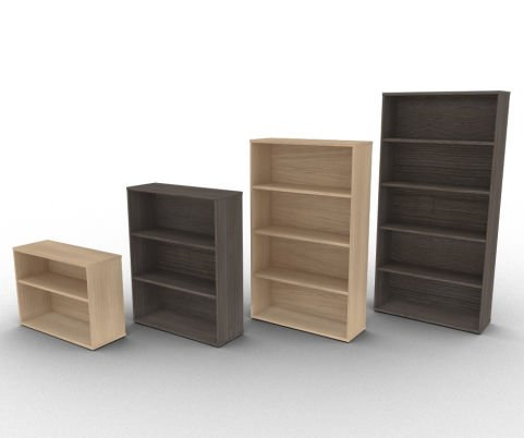 Avalon Scratch Resistant MFC Bookcases With Free Installation