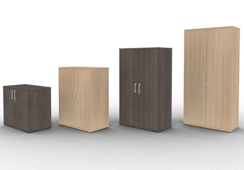 Avalon Wooden Office Cupboards With Lockable Doors, With A 5 Year Warranty, Available In 15 Finishes