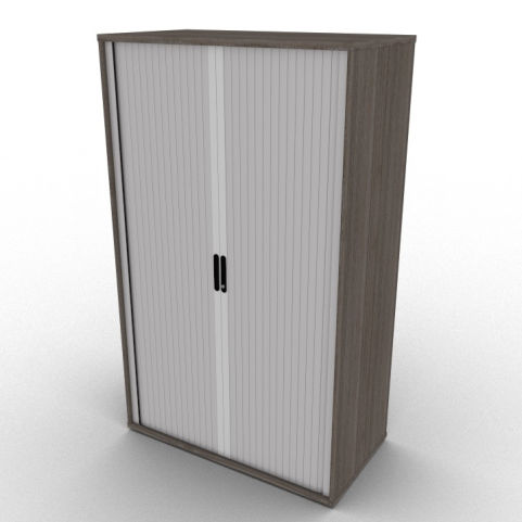 Anthracite Avalon Storage Cabinet With Lockable Cabinet Shutters Available In Four Height Options