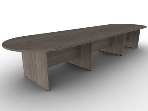 Avalon Anthracite Large Modular Side Panel Table With Uneven Floor Levellers And Manufactured In The UK