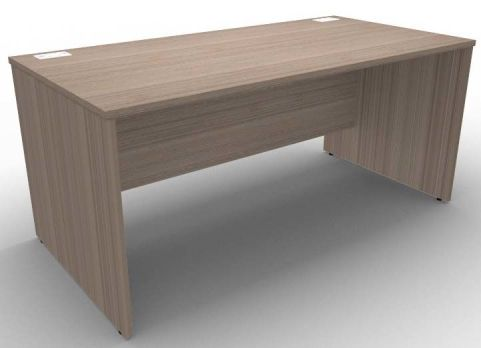 Avalon Side Panel Desk In Anthracite, 17 Finishes Available, Free Delivery, 5 Year Warranty