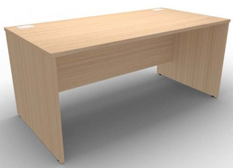 Avalon Side Panel Desk In Verade Oak, 17 Finishes Available, Free Installation