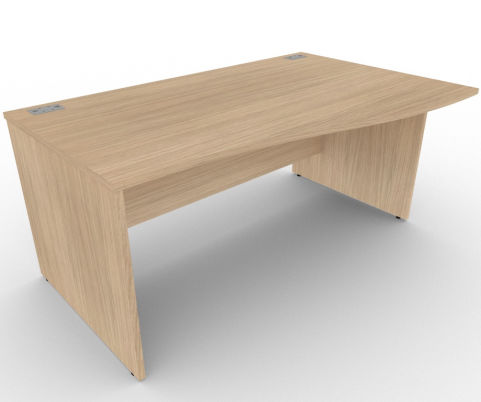 AVALON43 Avalon Right Hand Wave Panel Desk, 5 Year Warranty, Free Delivery And Installation
