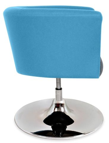 Axis Tub Chair With A Trumper Base Side View