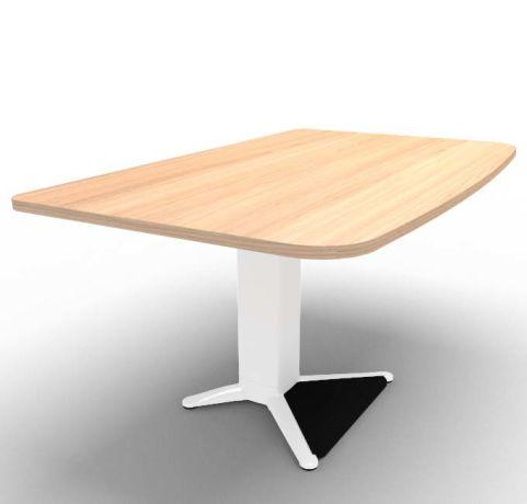 Energie Straight Desk Chestnut 1400mm