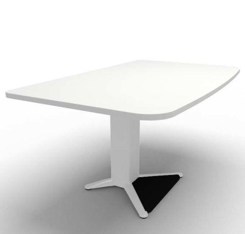 Energie Straight Desk White 1400mm