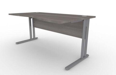 Optimize Right Hand Wave Desk In Cedar