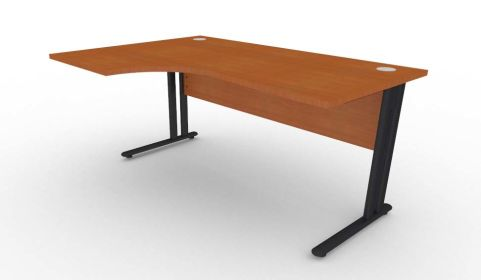 Optimize Left Hand Corner Desk In Cherywood V2