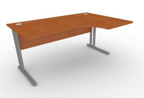 Optimize Right Hand Corner Desk In Cherywood
