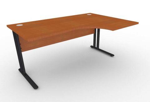 Optimize Right Hand Corner Desk In Cherywood V2