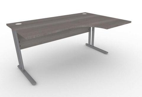 Optimize Right Hand Corner Desk In Cedar