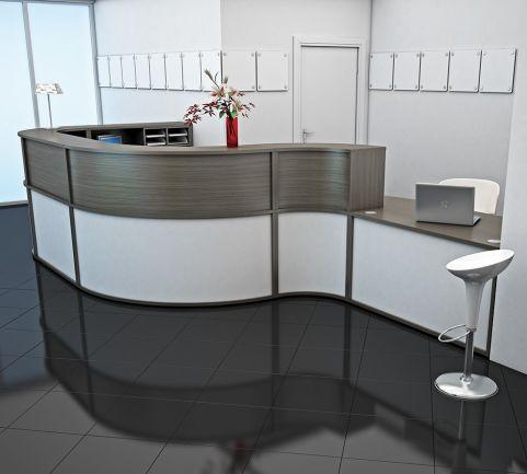 Avalon Large Reception Desk 9