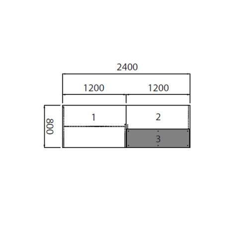 Dimensions Reception Desk