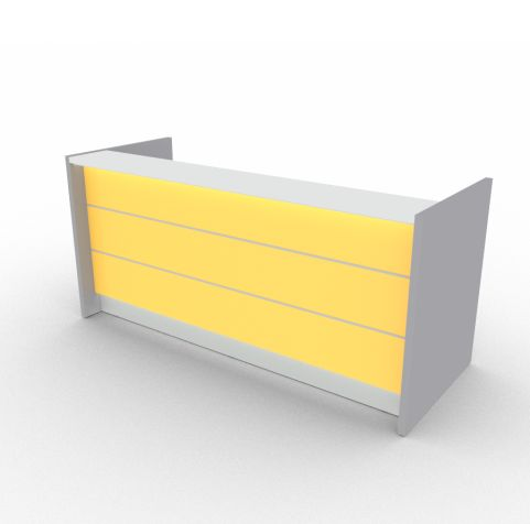 Vade Reception Desk Yellow