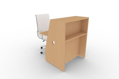 Bienvenue 850 Desk Beech