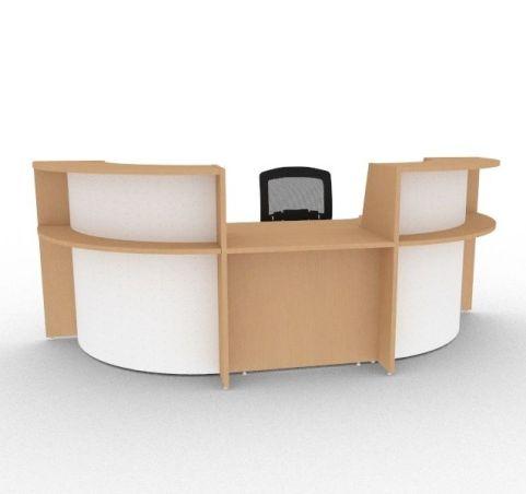 Bienvenue Reception Desk With DDA Unit
