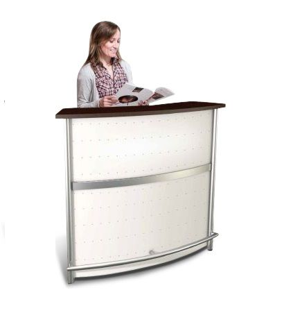 Deco Metal Reception Desk EX Cropped