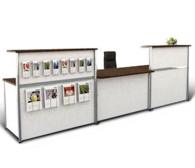 Deco Metal Reception Desk EX 5