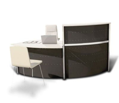 Deco Metal Recption Desk EX 9