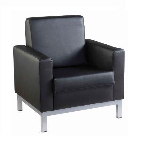 Nebraska Single Seater Black Leather £106 81 Ex Vat