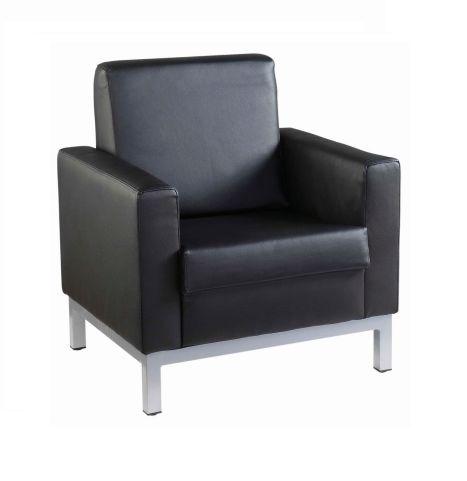 Nebraska Single Seater Black Leather 106 81 Ex Vat