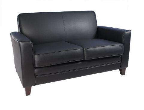 Newport Sofa Leather Faced