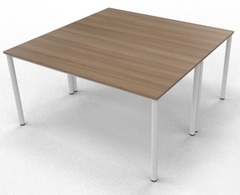 2 X C36 Chestnut Board Room Table