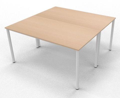 2 X C36 Maple Board Room Table