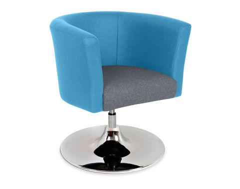 Roma Tub Chair Trumpetr Base