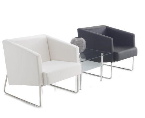 Crop Cubic Arm Chair