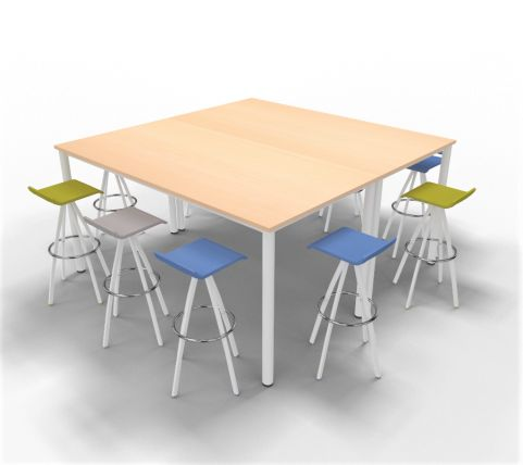 High Table Render With Stools 002