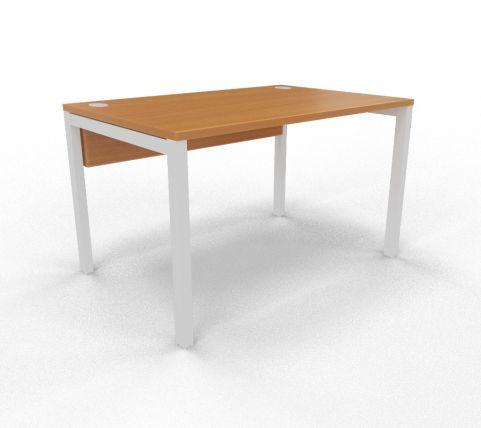 Draycott Bench Desk Beech Rear 1200