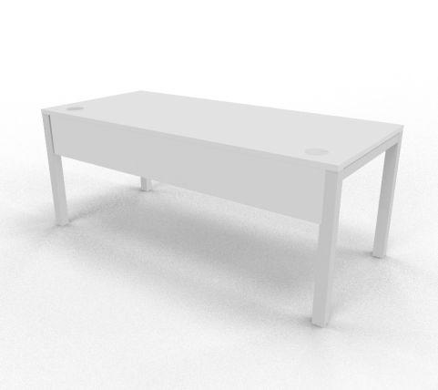 Draycott Bench Desk White
