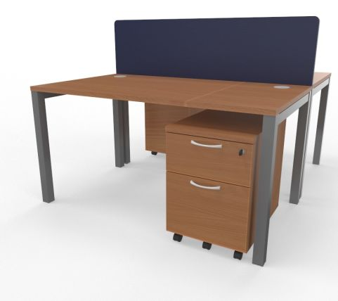 Draycott Two Person Bench Desk