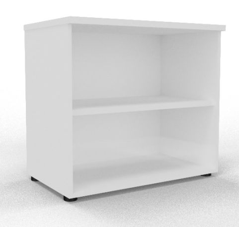 Draycott Wooden Bookcase 800 White