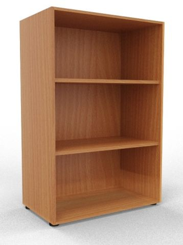 Draycott Wooden Bookcase 1200 Beech
