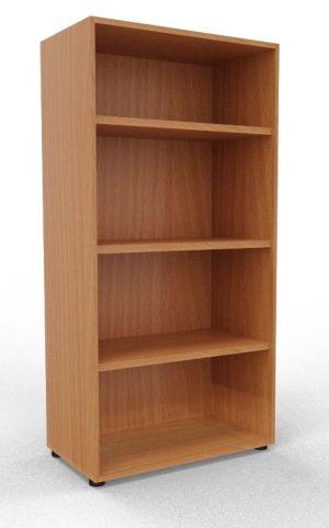 Draycott Wooden Bookcase 1600 Beech