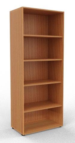 Draycott Wooden Bookcase 2000 Beech