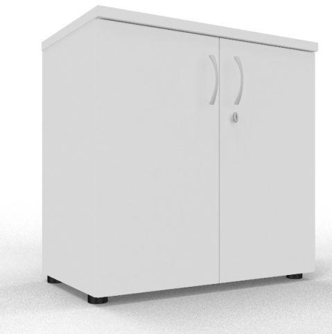 Draycott Wooden Cupboard 800 White