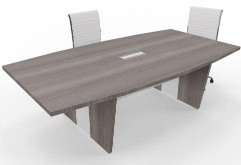 Biarritz Two Tone Boardroom Table Cedar
