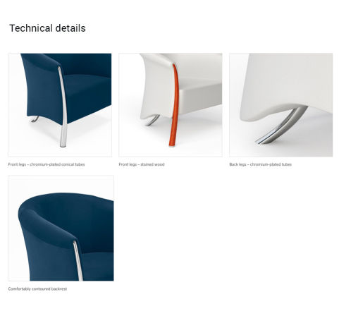 Technical Details Chair
