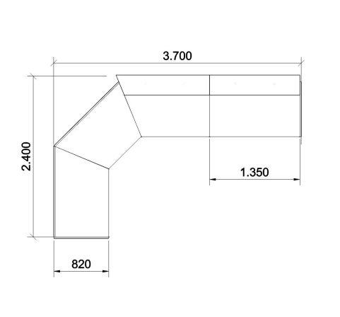 Reception Desks Dimensions Configurations
