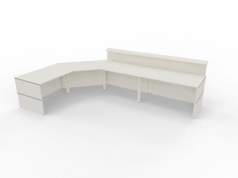 Reception Desks Configurations Rear View
