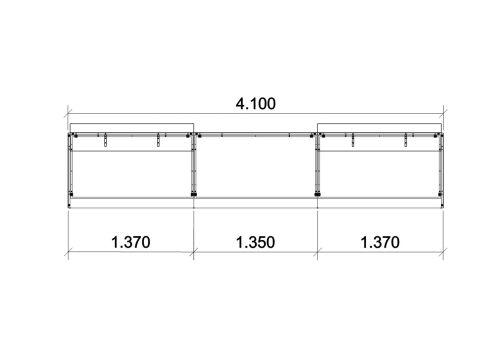 Reception Desks Configurations Dimensions