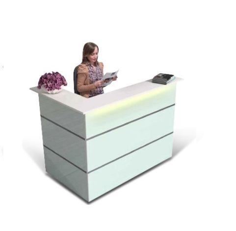 Small Salon Reception Desk L Shaped Desk