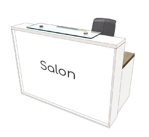 Salon Reception Desk Clarke Rend