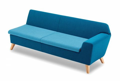 Stretch Three Seater Modular Sofa With A Left Hand Arm